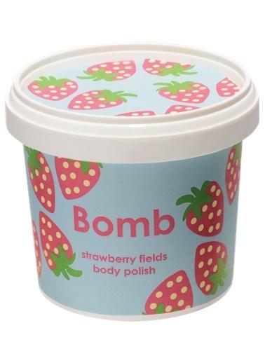 Bomb Cosmetics Strawberry Fields Vücut Peeling 375g Renksiz